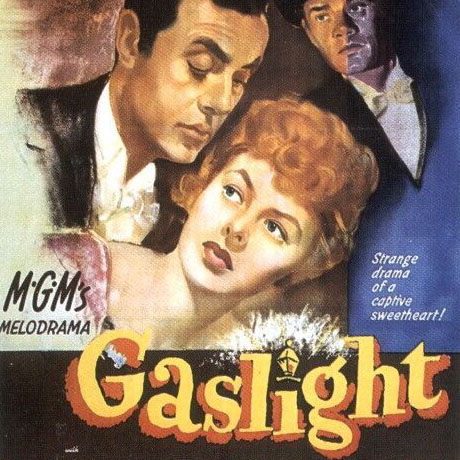 old movie poster for Gaslight